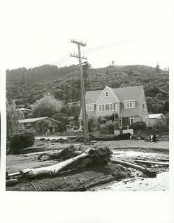 Storm damage in Stokes Valley, December 1976.