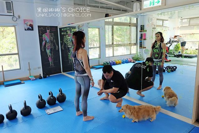 台南康體運動空間檢查姿勢