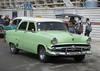 1954 Green Ford Customline Sedan Taxi. Havana, Cuba