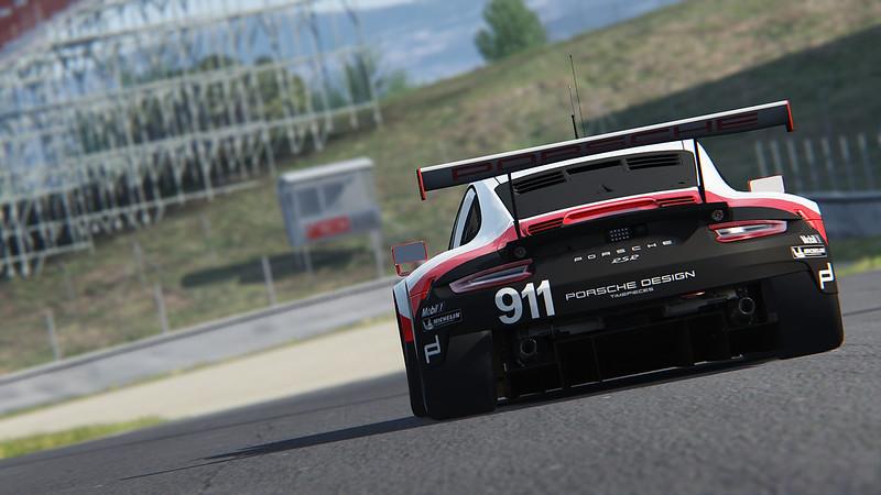Assetto Corsa 2017 Porsche 911 RSR