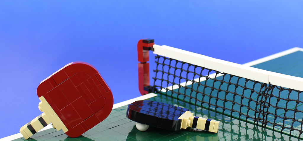 Ping Pong! (custom built Lego model)