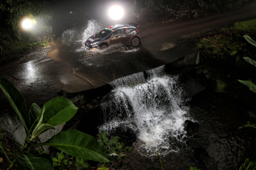 11 KASPERCZYK Tomasz  SYTY Damian Ford Fiesta R5 Action during the 2017 European Rally Championship ERC Azores rally,  from March 30  to April 1, at Ponta Delgada Portugal - Photo Jorge Cunha / DPPI