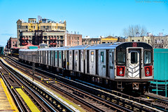 MTA New York City Subway Bombardier R142 #6566