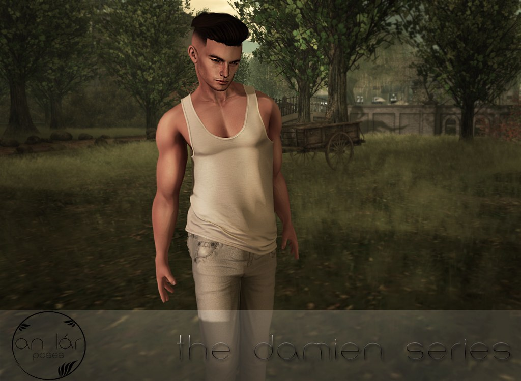 an lar [poses] The Damien Series - SecondLifeHub.com