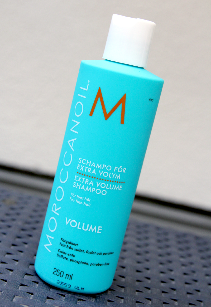 Moroccanoil extra volime shampoo