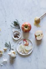 Roasted Butternut Squash & Apple Brandy Soup