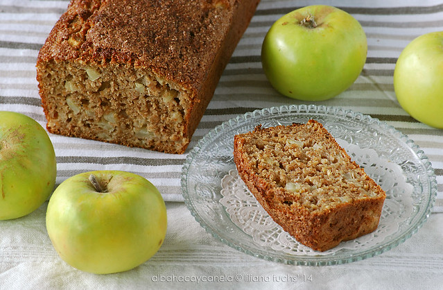 Whole wheat apple cinnamon  bread