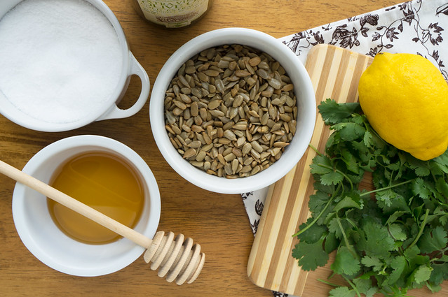 sunflower seed dressing ingredients