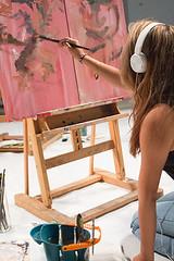 Battle of the Brushes; VASA Art Sprawl; September 11, 2014