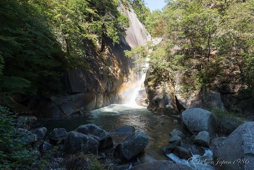 travel japan waterfall rainbow 日本 旅行 yamanashi 25mm 2014 虹 昇仙峡 山梨県 zf2 甲府市 仙娥滝 distagont225