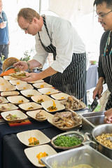 Edsel L posted a photo:	Roots conference hosted by the Chef's Garden