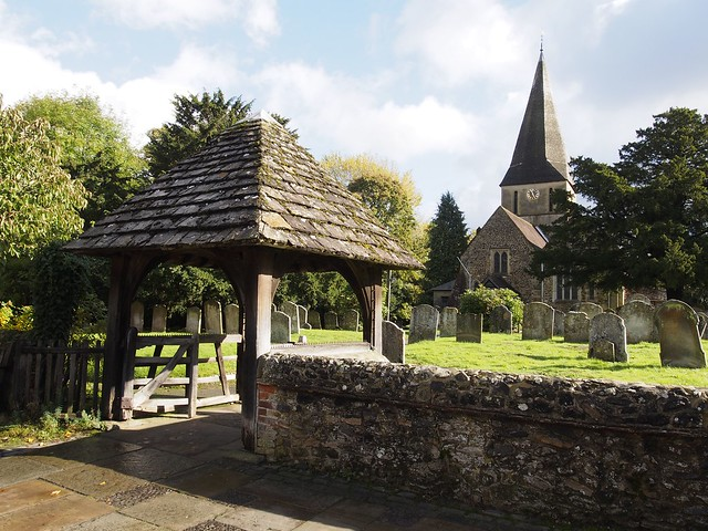 St James Church, Shere, Surrey, England, Travel