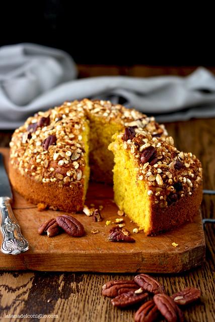 pumpkin granola cake3
