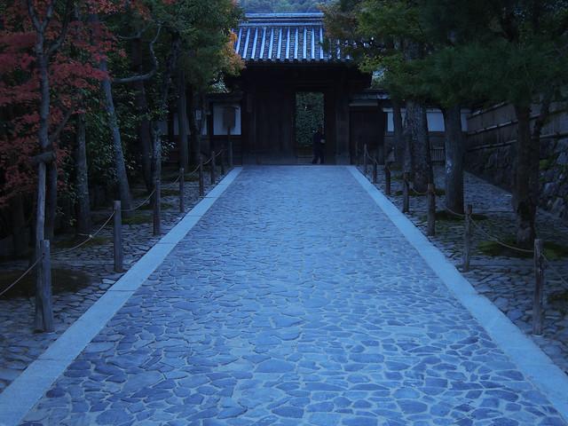 Beginning of the ginkakuji はじまりの入り口 京都市左京区 銀閣寺