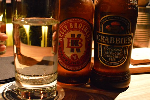 Kelly Smith's cider, Crabbies ginger beer