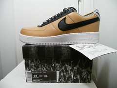 Nike Air Force 1 SP / Tisci (Riccardo Tisci of GIVENCHY) Vachetta Tan size 14 LE QS