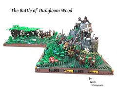 The battle of Dungloom forest