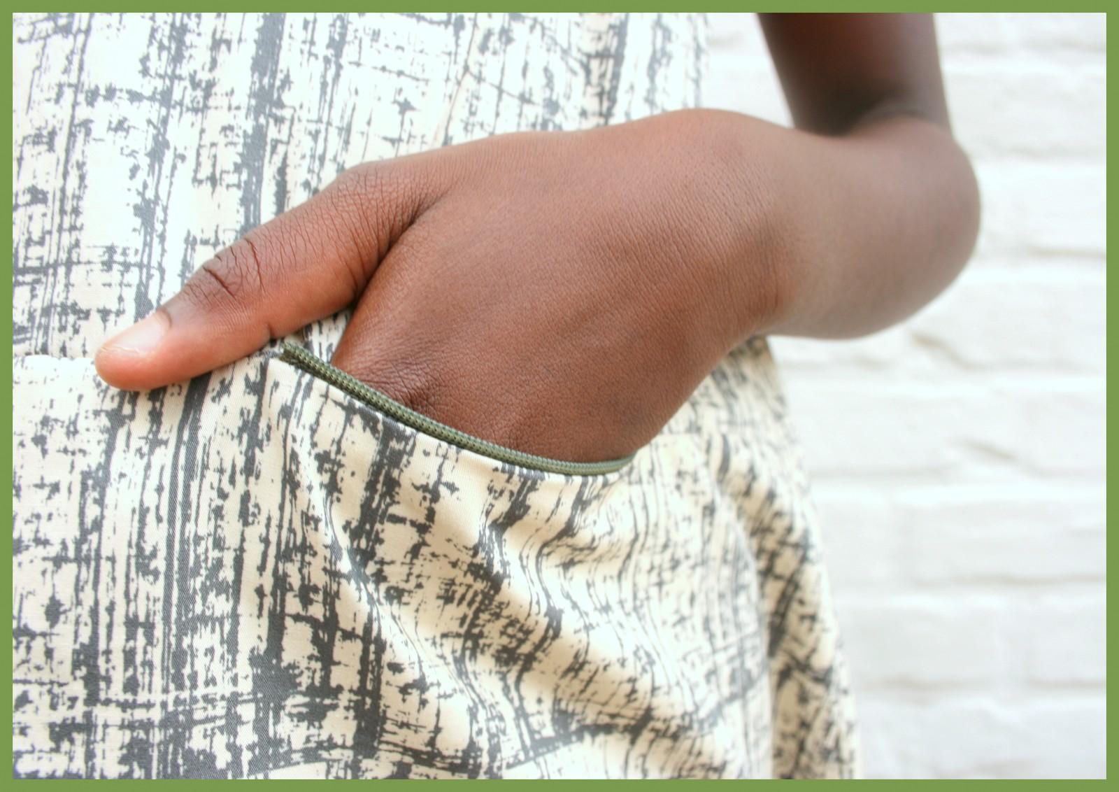 A-lijn jurk (pocket)