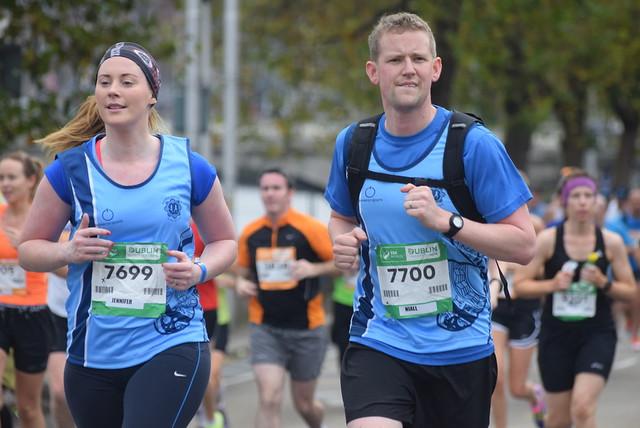 Dublin City Marathon 2014 - START - At 3 miles