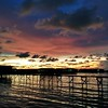 Another shot of sunset from the water village in Kota Kinabalu.