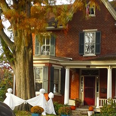 This is Halloween...at this house up in town.