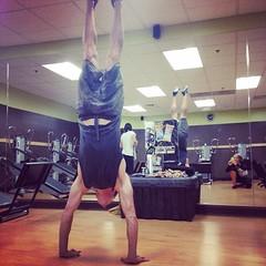 #CorePower #HandStand #Yoga #GTS