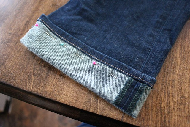 how-to-shorten-your-jeans-and-keep-original-hem-video