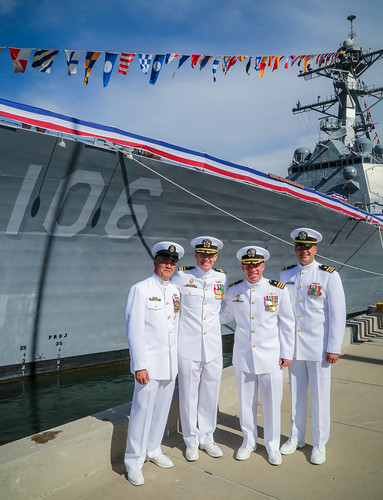 USS Stockdale Holds Change of Command in San Diego