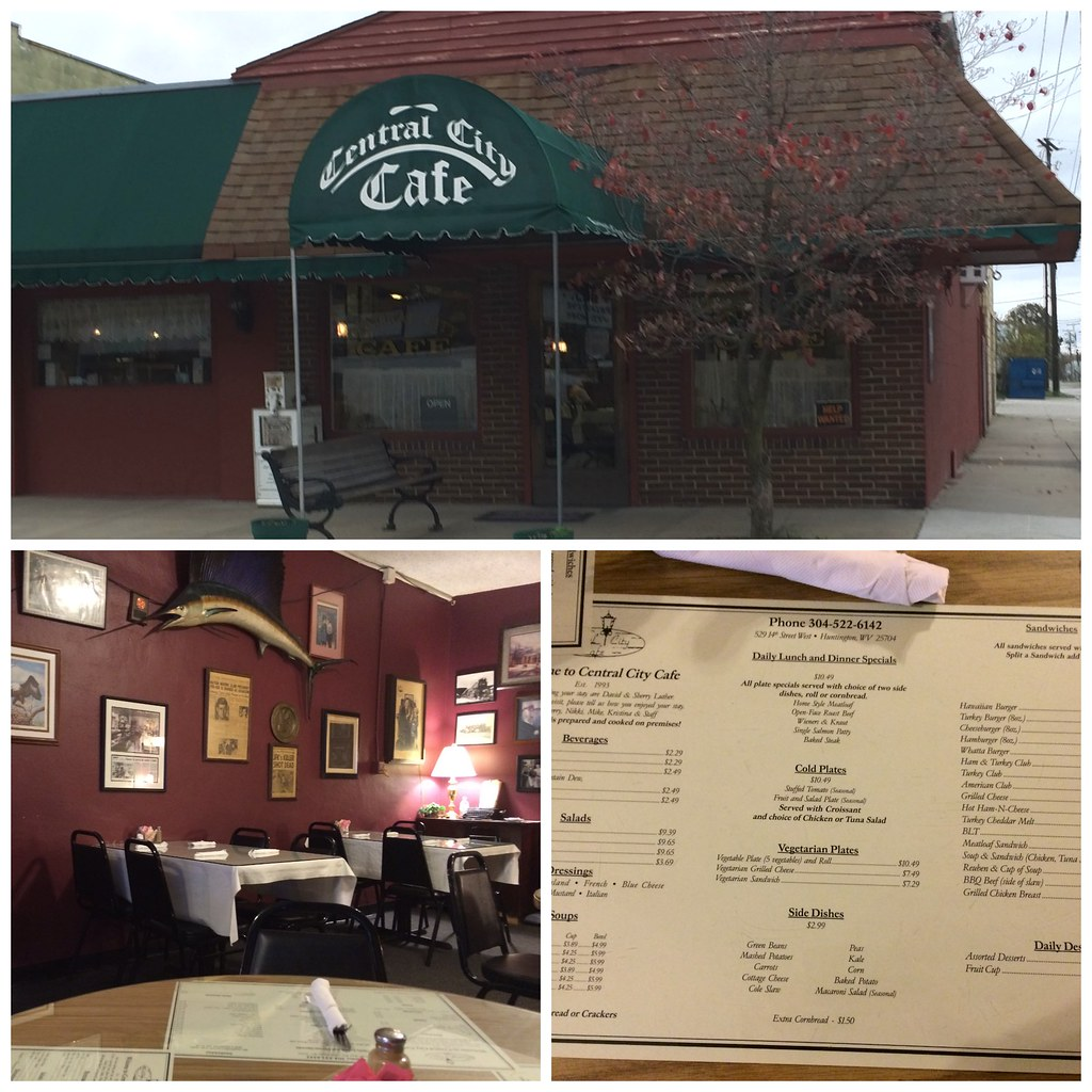 Central City Cafe Collage