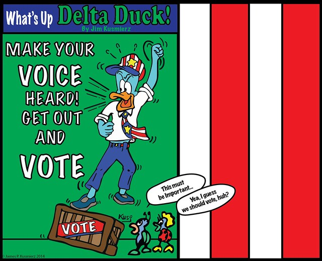 Delta Duck – Special message for November 4th