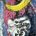 Floyd Tunson; Queen Kong; Acrylic; 1993 - rePOPulated: contemporary perspectives on pop art at the Arvada Center