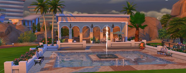 The sims 4 pool guide simsvip for Pool designs sims 4