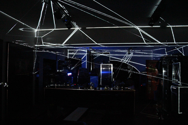 mayersun . KW . interactive mixed media installation . passau . 2014