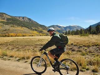 Dennis Riding in Camp Hale