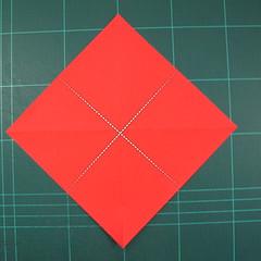 วิธีพับกระดาษเป็นรูปแมลงปอ (Origami Dragonfly) 003