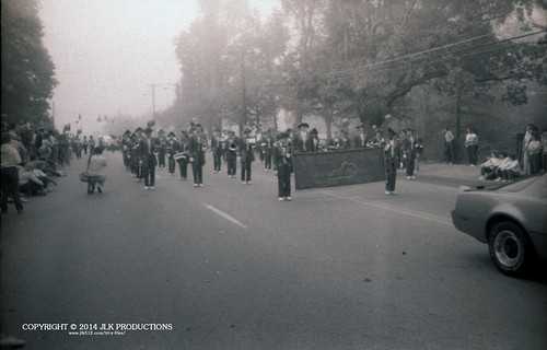 Tri-X Files 84_26.04a: The Start of the Parade on Lancaster Avenue