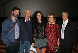 Vito Notarnicola, Stefano Arrè, la Vicesindaco, Lavinia Orlando, Rosita Orlandi ed il Vicepresidente Nazionale FIDAS Antonio Bronzino