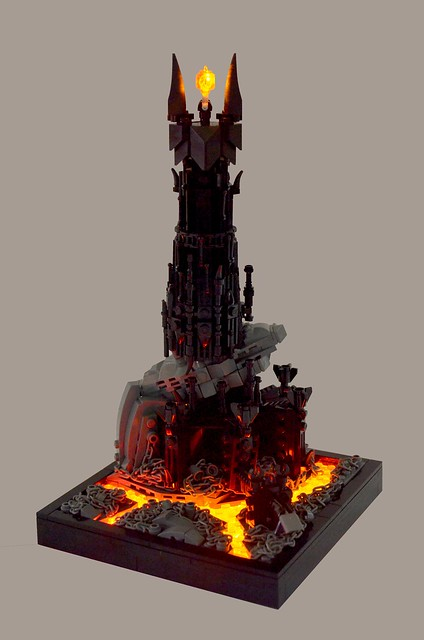 Lord Of The Rings Sauron Lego