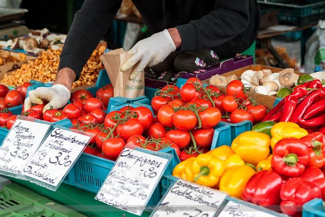 Stuttgarter Markt Szene