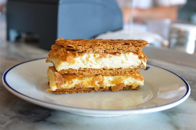 Napoleon tahitian vanilla cream