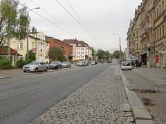 Königsbrücker Straße bei Tag