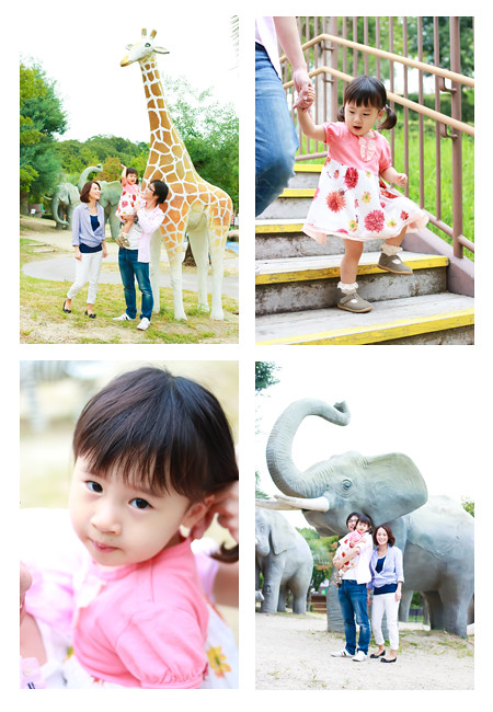 ロケーション撮影 モリコロパーク 愛知県長久手市 屋外 公園 家族写真 子供写真
