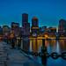 Boston Waterfront by Bill Varney