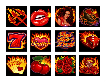 free Red Hot Devil slot game symbols