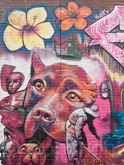 Graffiti Mural, West Bronx, New York City