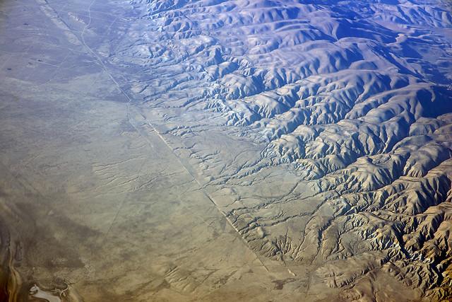 Above the San Andreas Fault, Carrizo Plain, San Luis Obispo County, California