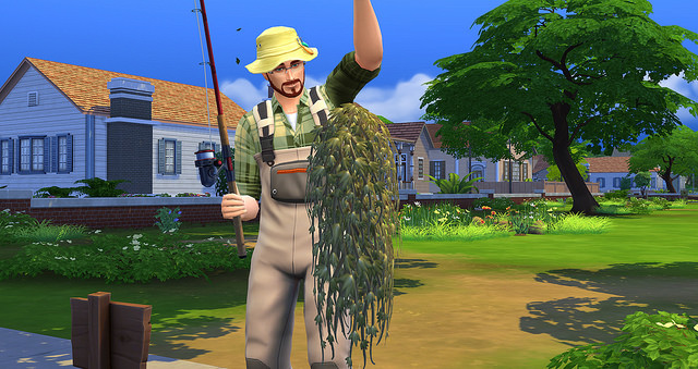 The Sims 4 Fishing Skill 5