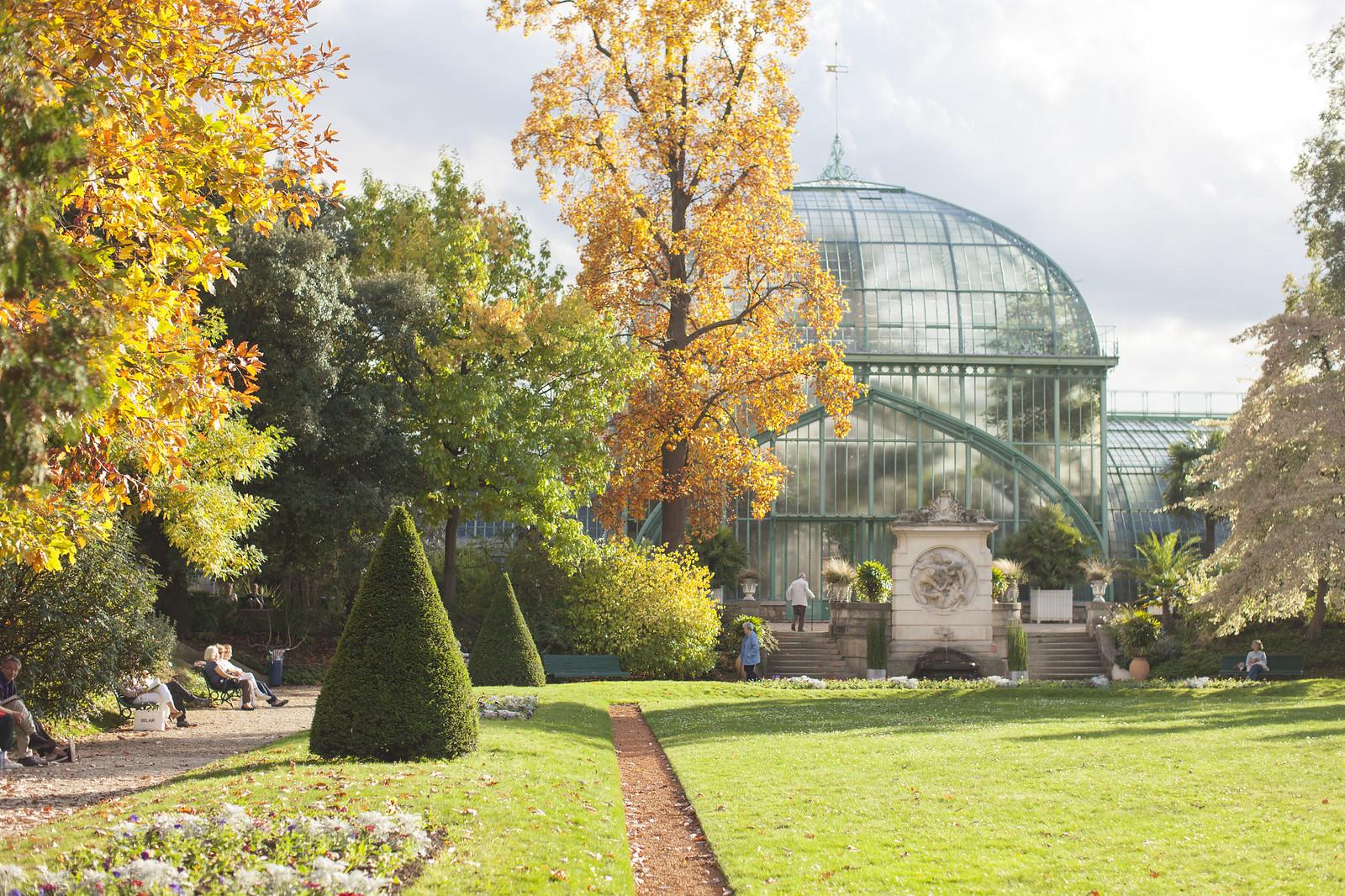 jardins des serres d'auteuil, paris