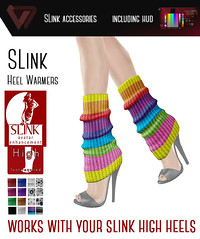 SLink High Warmers with HUD! (works with your SLink High Heels!!)