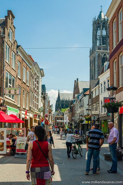 Por el centro de Utrecht